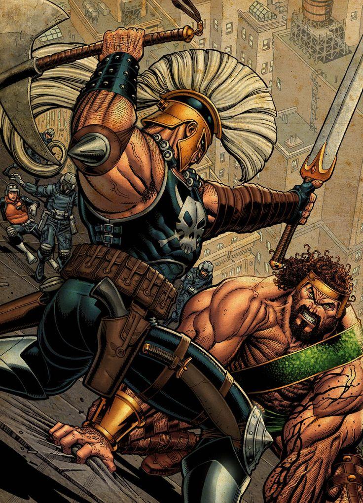 Ares vs. Hercules | In this Corner (vs Battles) | Pinterest