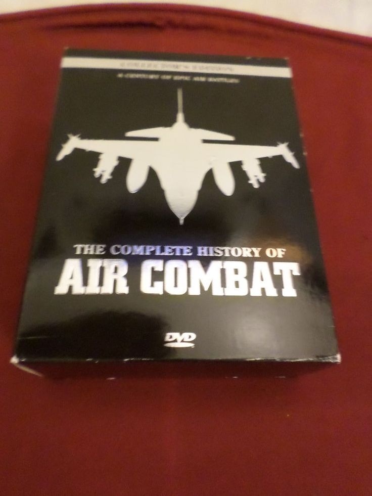 B-955 The Complete History of Air Combat Box set 10 DVD's
