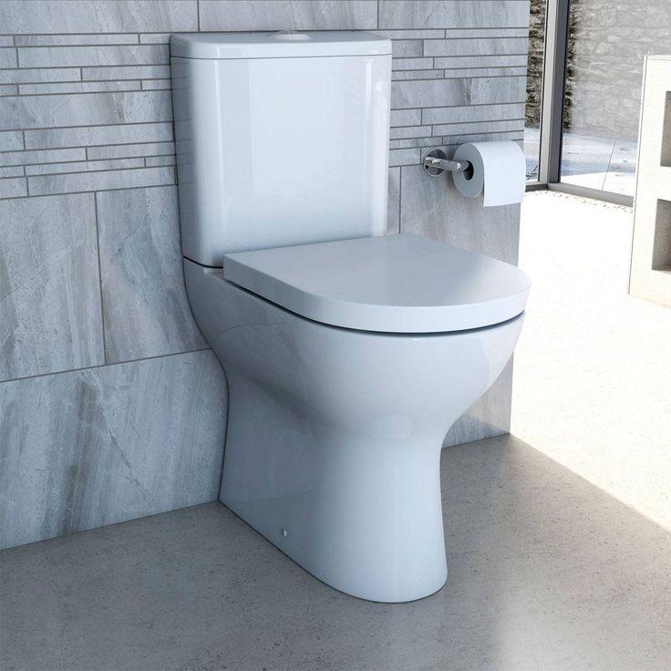 fairbanks raised height close coupled toilet inc luxury soft close seat victoria plumb - Bathroom Accessories Victoria Plumb