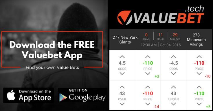 Monday Night Football Valuebet App Sports Betting tip: New York Giants @ Minnesota Vikings