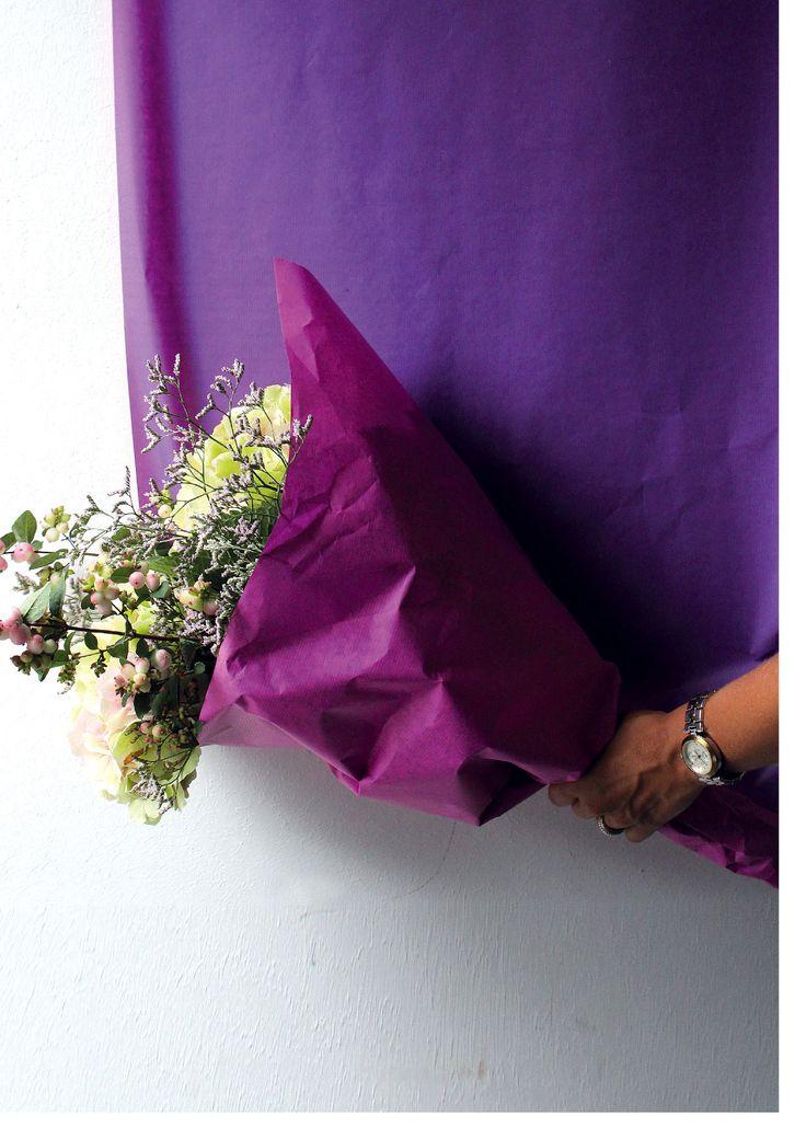 Rolls at Broekhof #Broekhof #flowers #florist #rolls #packaging