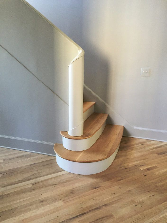 staircase at Jeannette Whitson studio