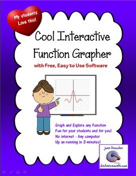 Interactive Live Function Grapher with free software - FREE DOWNLOAD
