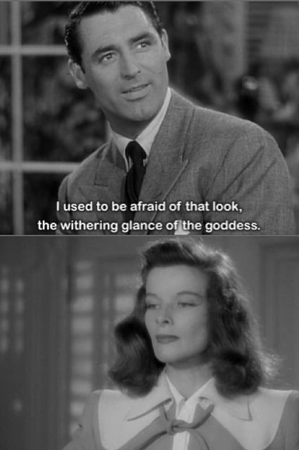 """Wonderful movie. """"The Philadelphia Story"""", (1940) starring Cary Grant and…"""