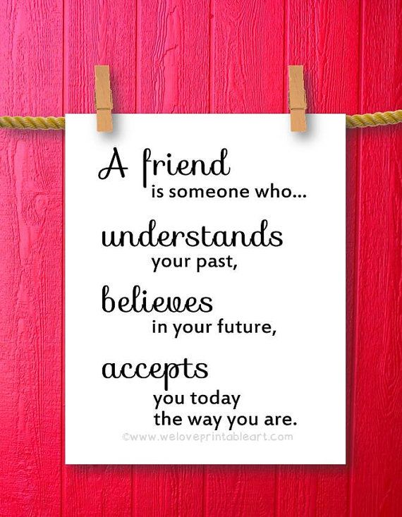 Gift For Best Friend Quote Printable Art Wall Decor