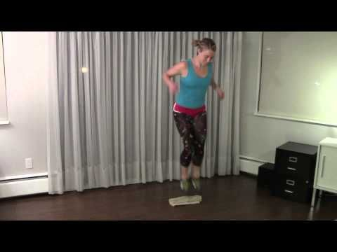 Roller Derby Athletics -- 20 minute workout to develop knee strength