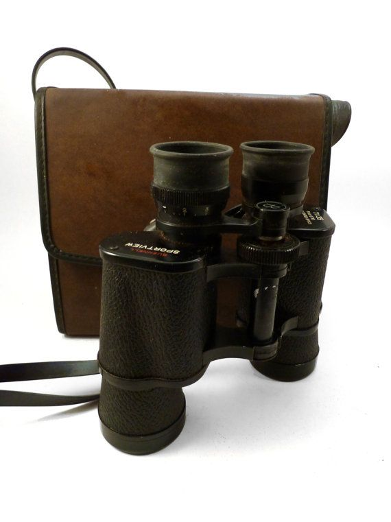 Vintage Bushnell Binoculars with Case by Bricolageur on Etsy, $25.00