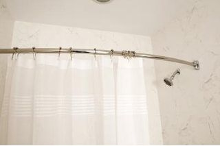 How do I Prevent Rusting of a Shower Curtain Rod Curtain