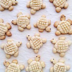 4 galletas caseras muy divertidas Recetas de galletas caseras divertidas para hacer con los peques. Galletas de ositos, tortugas, caritas graciosas y hombrecitos.