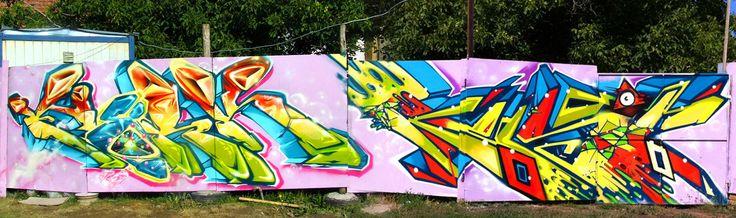 2011 Serbia #Budapest #Hungary #graffiti #spray #art #fork #fork4 #afx #apocalypsefanatix #ubs #sw307 #kast #kest #senph42 #enzo #jam