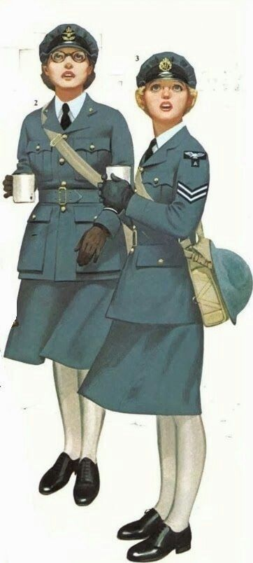 WAAF itself was the female auxiliary of the Royal Air Force during World War II,