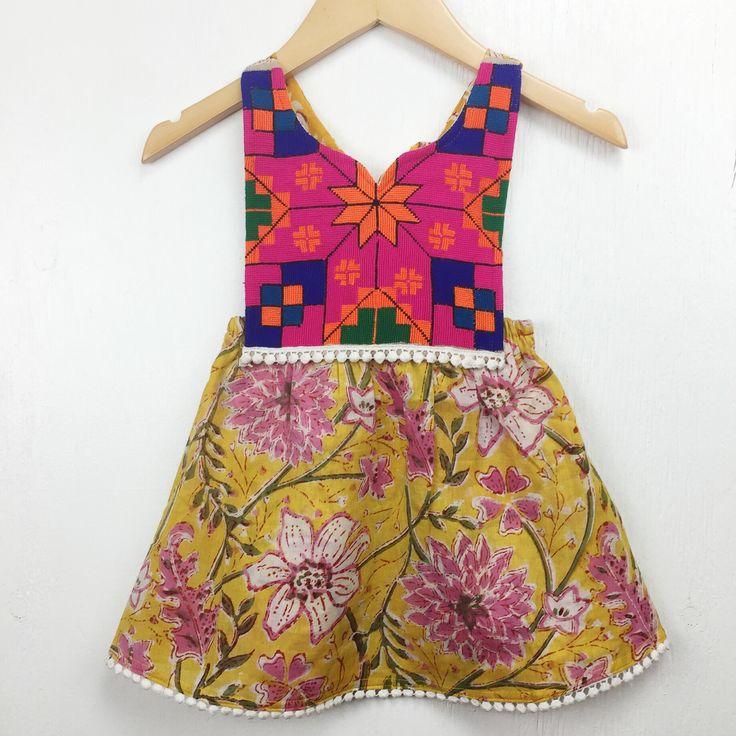 Boho Baby Shower Dress ~ Littlemoonclothing bigcartel bohemian baby dress