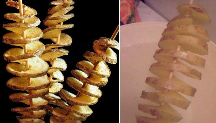 Chcete překvapit své hosty luxusním občerstvením? Tornádo brambory jsou tou správnou volbou.