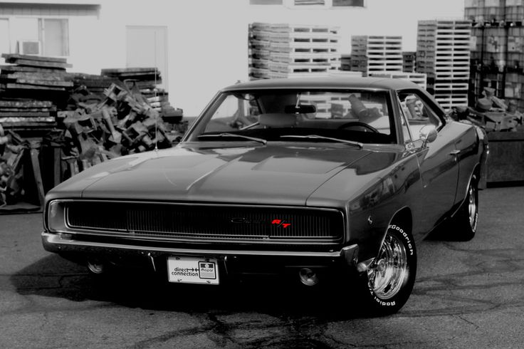 1968 Dodge Charger R/T - (Black & White and Red)   A not-so-…   Flickr