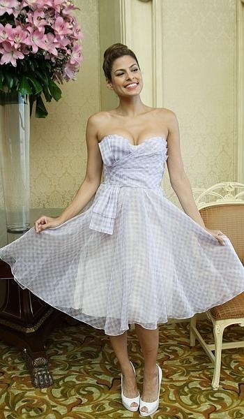 82 best style crush eva mendes images on pinterest eva for Eva my lady wedding dress