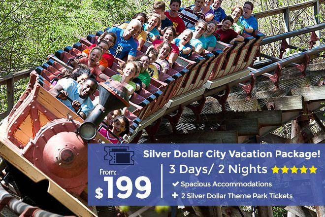 3 Day Branson Getaway Plus 2 Silver Dollar City Tickets In 2020 Silver Dollar City Discount Vacation Branson Vacation