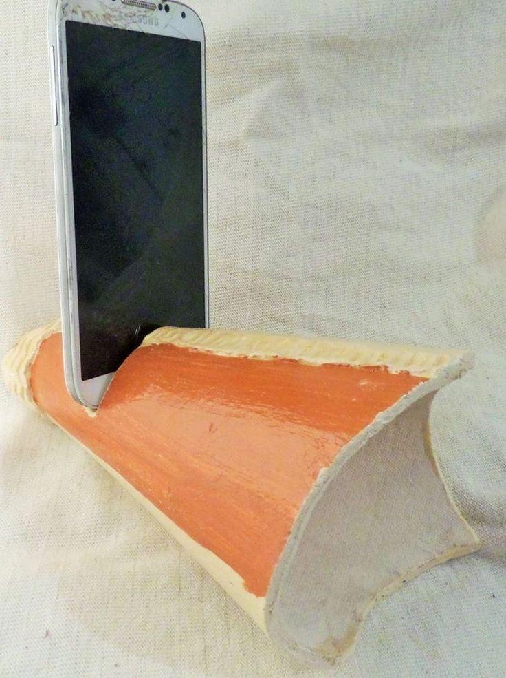 Trumpet acoustis ceramic phone