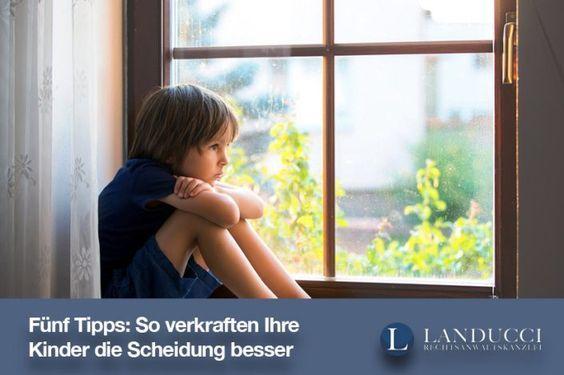 Fünf Tipps: So verkraften Ihre Kinder die Scheidung besser