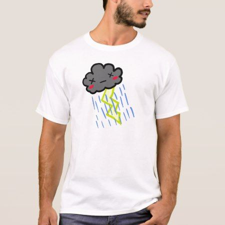 Rain Cloud T-Shirt - tap to personalize and get yours
