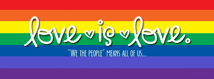 Marriage equality Facebook banner: Facebook Banners, Life L Loud, Equality Facebook, Fb Covers, Marriage Equality