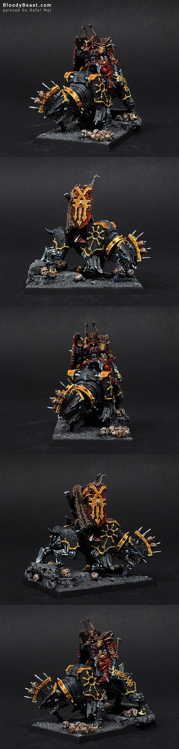 Khorne Chaos Lord on Juggernaut