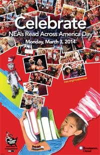 NEA's Read Across America Day is Monday March 3rd!!!