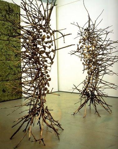 Giuseppe Penone - Skin of Leaves: Pijnlijk, Natuurlijk