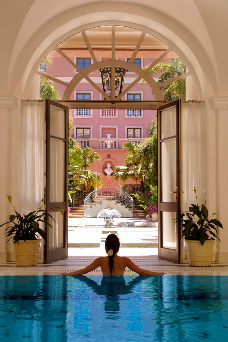 Hotel Villa Padierna, in Marbella, Spain, features a 2000m² Thermal Spa with treatment rooms, steam baths, saunas…