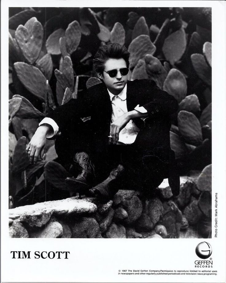 Tim Scott, Ledfoot HIP 8x10 press photo! Tim Scott McConnell, Rockats, Havalinas