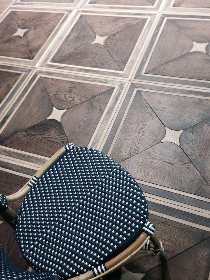 Explore timeless bathroom and kitchen floors of custom terracotta tiles, luxury woods, and unique stones.