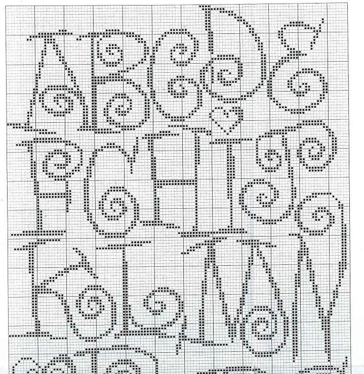 Cross Stitch Alphabet Swirls Cross Stitching Pinterest