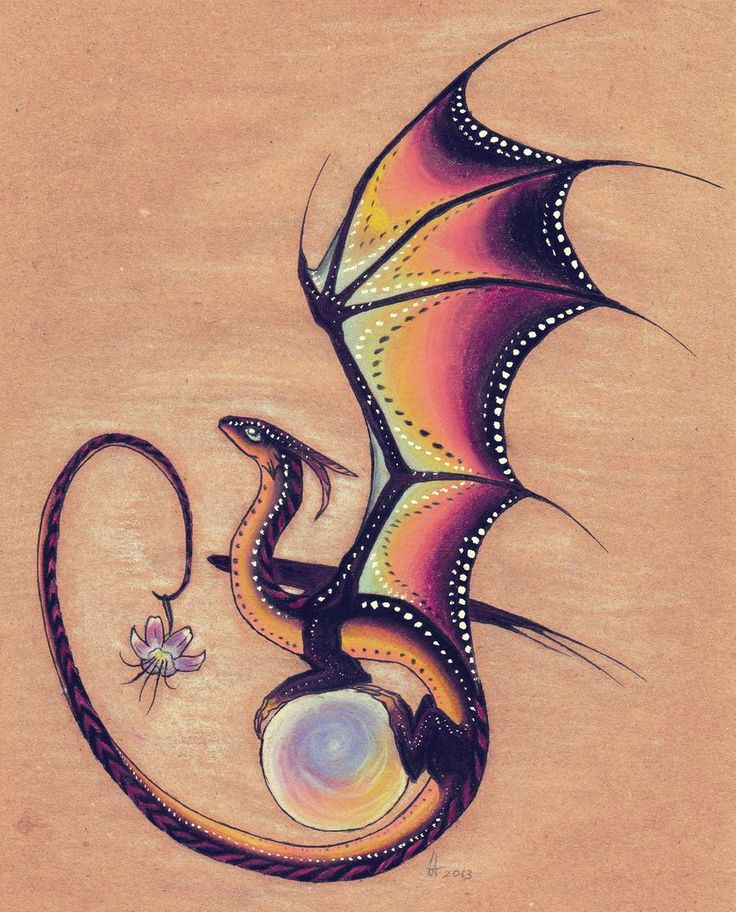 Twilight dragon by on deviantart for Small dragon tattoos