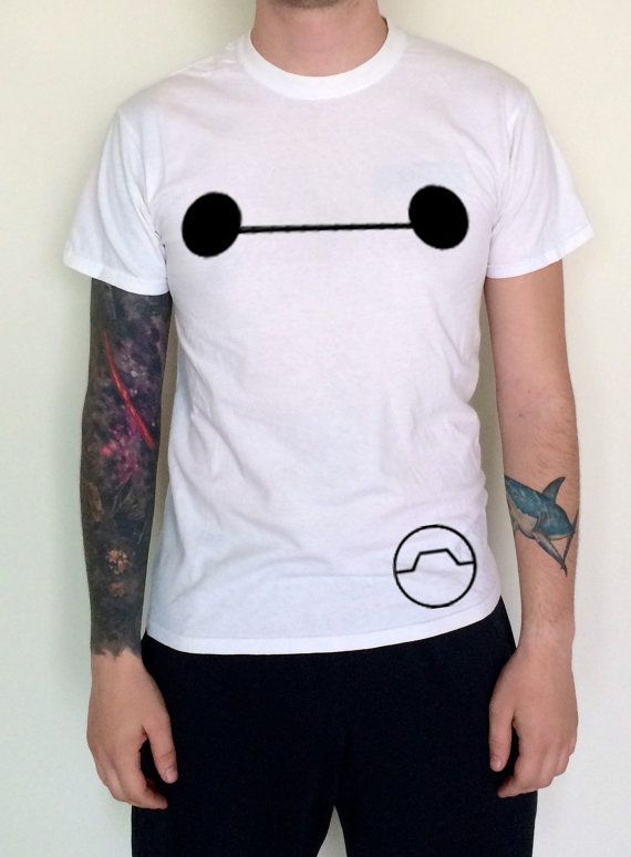 Hey, I found this really awesome Etsy listing at https://www.etsy.com/listing/210441259/baymax-big-hero-6-inspired-shirt