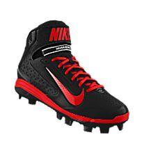 Custom Nike Air Huarache Pro Mid iD Cleat. Gotta have Em!