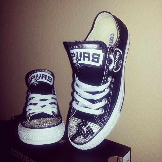 65 best spurs images on pinterest spurs fans san antonio spurs adult custom spurs converse negle Gallery