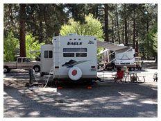 Clios Rivers Edge RV Park Northern California Sierras