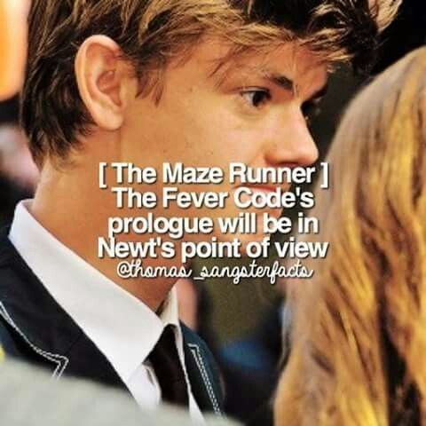 The Fever Code chapter 1 in Newt's POV!?