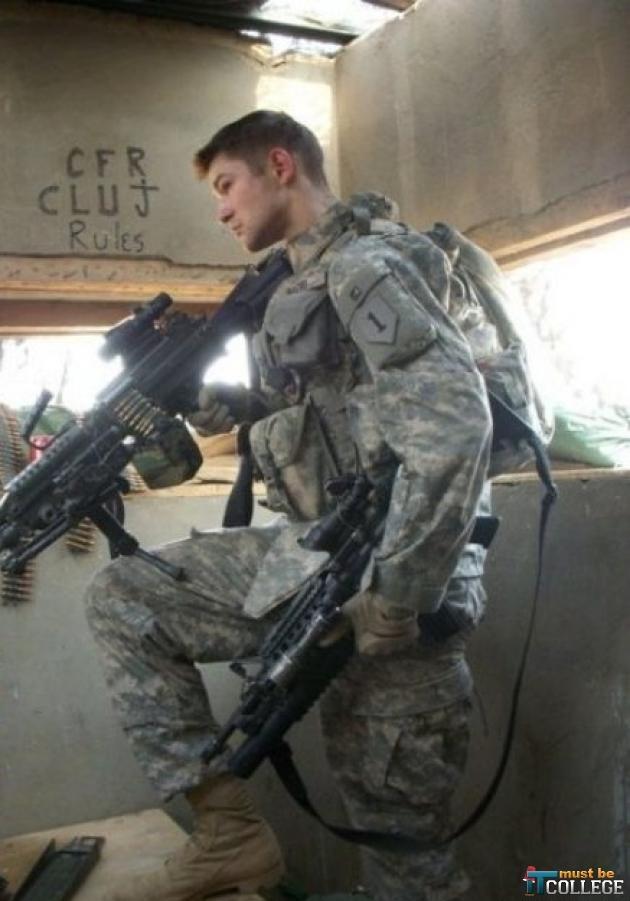 Hot army guys