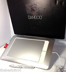 Wacom Bamboo Fun Digital Tablet CTH661 | eBay