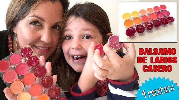 Hoy aprenderemos a hacer Bálsamos labiales con crayolas, manteca de cacao y algunos ingredientes mas. Es super facil y rápido!  Link a las Recetas: http://www.hoynohaycole.com/archives/balsamo-de-labios-casero-4-recetas-faciles/  *** CONSUL...