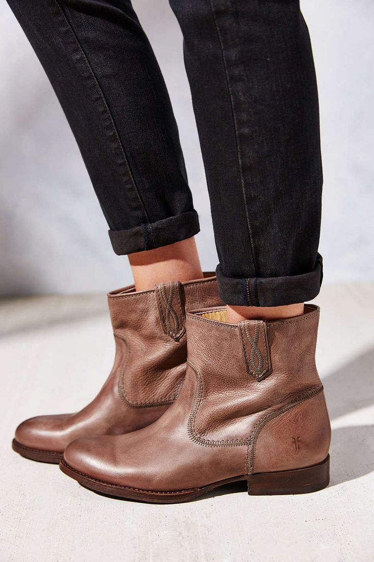 Frye Jamie Stitch Short Ankle Boot