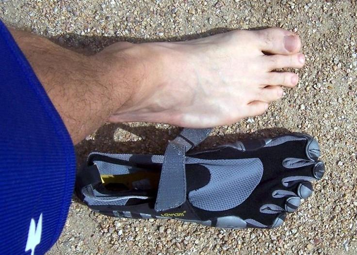 Vibram Five Finger modification for morton's toe