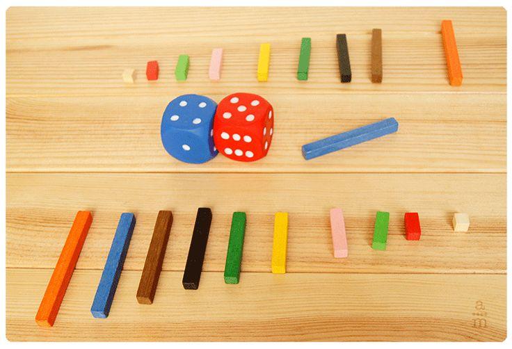 Juego con regletas. Aprendiendo matemáticas - Recursos para aprender y enseñar matemáticas