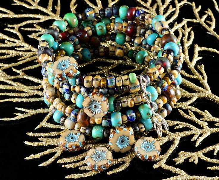 ✔ What's Hot Today: Czech Round Mixed Seed Beads - Beaded Tribal Boho Bracelet free tutorial (PDF) http://czechbeadsexclusive.com/czech-round-mixed-seed-beads-beaded-tribal-boho-bracelet-free-tutorial-pdf/?utm_source=PN&utm_medium=czechbeads&utm_campaign=SNAP #Bead_Bracelets_Pattern, #Bead_Pattern_Seed, #Bracelet_Bead_Pattern, #Bracelet_Bead_Tutorial, #Pattern_Bead_Bracelet, #Seed_Bead_Pattern, #Seed_Beads_Tutorials