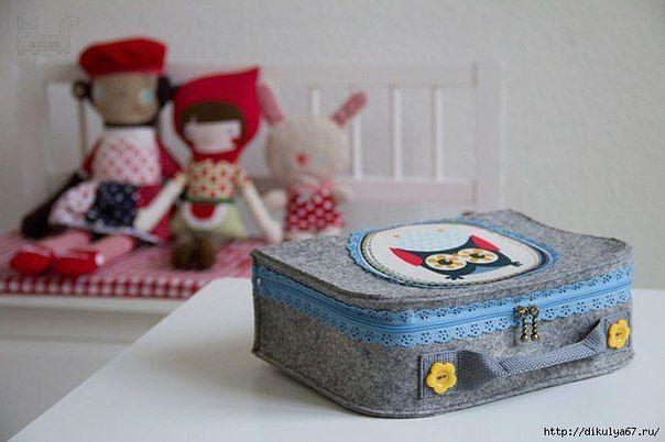 НАША СТРАНА МАСТЕРОВ: Шьем игрушечный чемоданчик