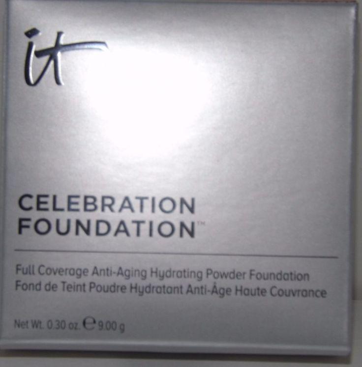 IT Cosmetics Celebration Foundation Powder (Medium) Full Size - New In Box #ItCosmetics