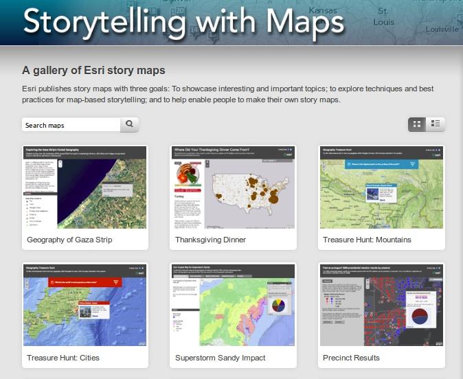 STORYTELLING WITH MAPS - fantastické interaktívne mapy s príbehom na rôzne témy. Takto vyzerajú mapy budúcnosti.