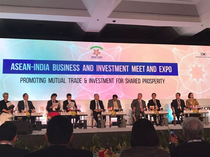 To commemorate the 25 years of ASEAN India Business Summit 2018 bilateral relations, a historic event had been organized by the Government of India and have invited Heads of State of Ten #ASEAN Nations, which would be a landmark event in the history of any country. On this occasion, Mr Rajiv Arora, Executive Vice President had discussions with the delegates from #Malaysia, #Indonesia, #Lao, #Myanmar, #Brunei, #Singapore, #Thailand, #Vietnam, #Philippines & #Cambodia.
