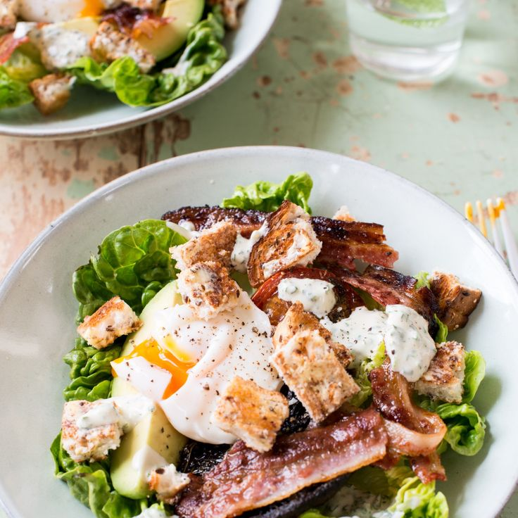 Brunch salad By Nadia Lim