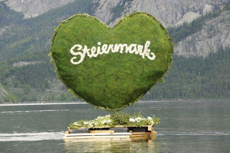 Das Grüne Herz beim Narzissenfest #Österreich #Steiermark #Austria